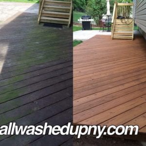 Deck Washing and Wood Restoration